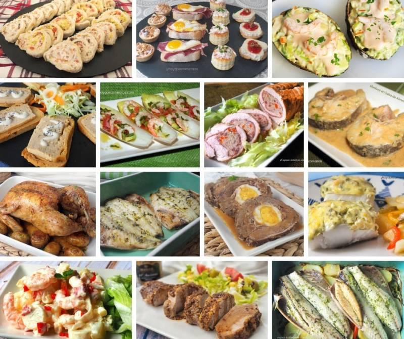 Ideas de entrantes y platos caseros para navidad | Cocina y ...