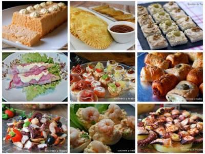 aperitivos faciles y caseros