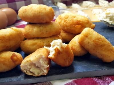 Croquetas de pollo caseras