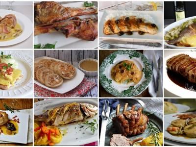 Segundos platos, carnes y pescados para navidad